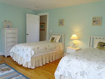 Dennis Port Cape Cod vacation rental - Bedroom 2 upstairs with two twin beds
