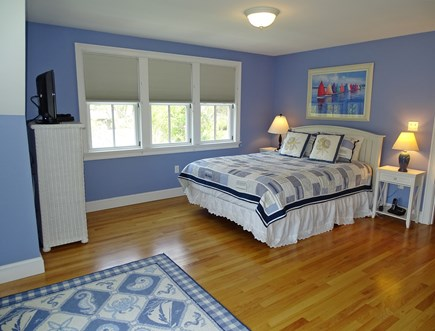 Dennis Port Cape Cod vacation rental - Spacious bedroom 4 upstairs with queen size bed