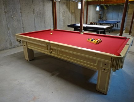 Dennis Port Cape Cod vacation rental - Pool table and ping pong in the basement
