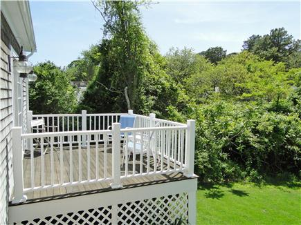 Dennis Port Cape Cod vacation rental - Deck from master bedroom
