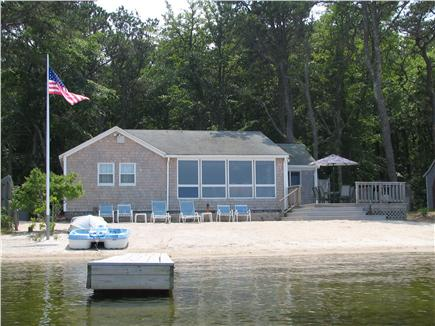 Harwich Cape Cod vacation rental - Harwich Vacation Rental ID 19507 Beach House on Seymour Pond!!