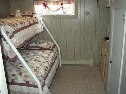 Harwich Cape Cod vacation rental - Middle Bedroom with Pyramid Bed (Twin over Full) Kids love it!