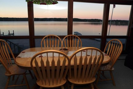Harwich Cape Cod vacation rental - Beautiful Sunrises and Sunsets from the Dining Area!