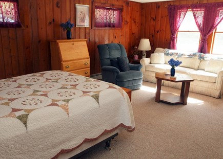 Harwich Cape Cod vacation rental - Master Bedroom Sitting Area