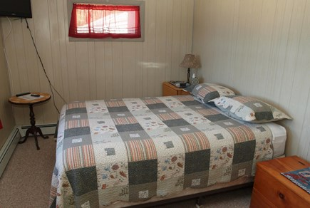 Harwich Cape Cod vacation rental - Rear Bedroom (Queen) with T.V.