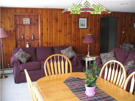 Harwich Cape Cod vacation rental - Dining /Sitting Area with great views of Seymour Pond!!