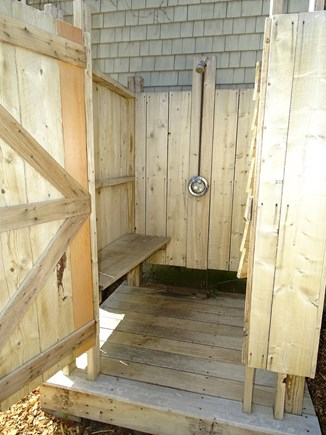 Wellfleet Cape Cod vacation rental - Or rinse off outside in new outdoor shower