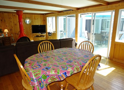 Wellfleet Cape Cod vacation rental - Indoor dining area, adjacent to kitchen and living rooms