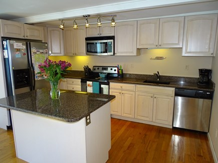 Wellfleet Cape Cod vacation rental - Kitchen with granite counter tops, stainless appliances