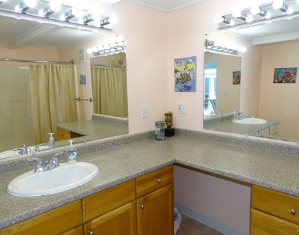 Wellfleet Cape Cod vacation rental - Large bathroom with shower
