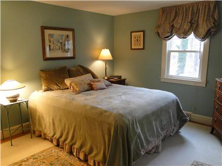 Brewster Cape Cod vacation rental - Queen bedroom, across from main bathroom