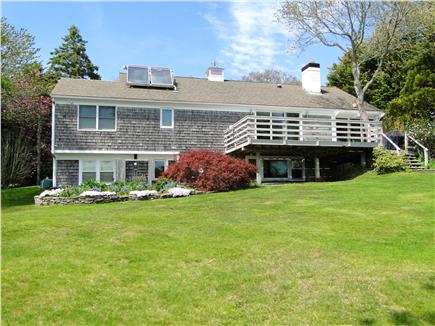 Brewster Cape Cod vacation rental - Plenty of room to play, enjoy pond; deck overlooking yard
