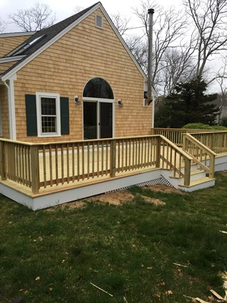 North Eastham Cape Cod vacation rental - Newly expanded deck