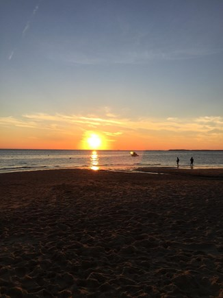 North Eastham Cape Cod vacation rental - Campground Beach Sunset
