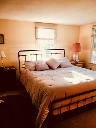 North Eastham Cape Cod vacation rental - Master Bedroom 1st Floor.  King with Flat Screen TV