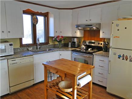 Chatham Cape Cod vacation rental - Modern kitchen w/granite counters, & built in cabinets