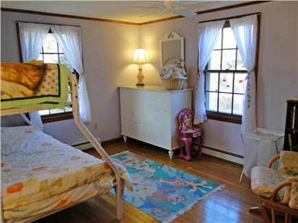 Chatham Cape Cod vacation rental - Bedroom on main floor w/twin and full bunk beds