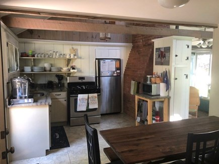 Dennis Port Cape Cod vacation rental - Kitchen with Eat In Area