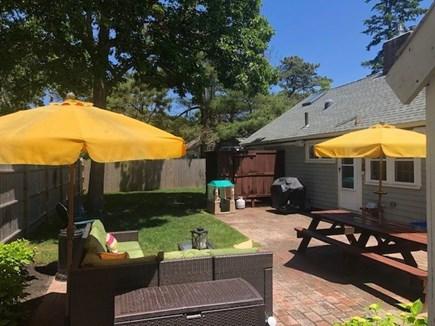 Dennis Port Cape Cod vacation rental - Backyard Outdoor Living