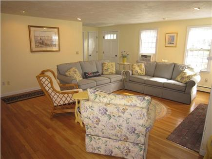 Brewster Cape Cod vacation rental - View of living area from kitchen