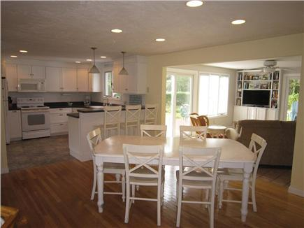 Brewster Cape Cod vacation rental - Open Dining and Kitchen leading to sunroom