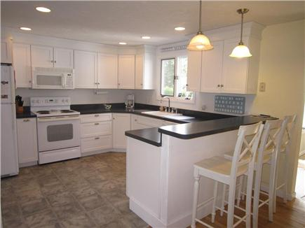 Brewster Cape Cod vacation rental - Bright, lit kitchen fully equipped