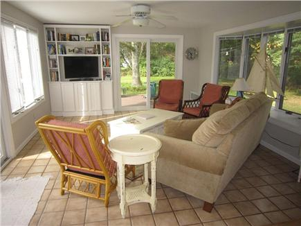 Brewster Cape Cod vacation rental - Exquisite additional space with TV (sunroom)