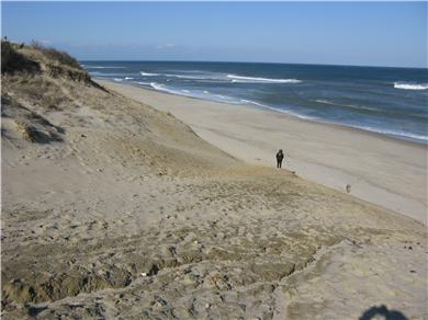 Wellfleet Cape Cod vacation rental - LeCount Hollow Beach is just .8 of a mile away