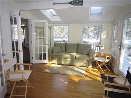 Wellfleet Cape Cod vacation rental - Light Filled Sun Room