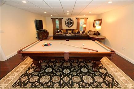 Brewster Cape Cod vacation rental - Billiard/Media Room