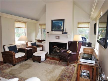 Orleans Cape Cod vacation rental - Comfortable living area w/ flatscreen TV