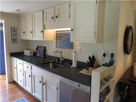 Orleans Cape Cod vacation rental - Galley kitchen alternate view