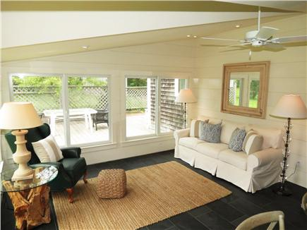 Orleans Cape Cod vacation rental - Sunroom seating area
