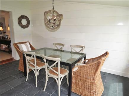 Orleans Cape Cod vacation rental - Sunroom dining area