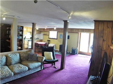 Brewster Dennis town line Cape Cod vacation rental - Lower Level with Kitchen (second kitchen)