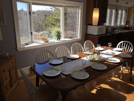 Brewster Dennis town line Cape Cod vacation rental - Dining Room