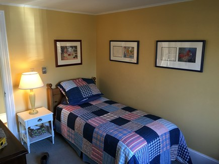 Brewster Dennis town line Cape Cod vacation rental - First Floor Twin
