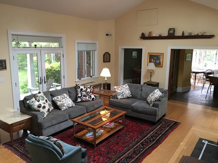 Brewster Dennis town line Cape Cod vacation rental - Living Room