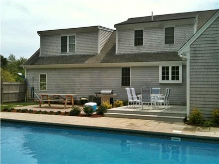 New Seabury New Seabury vacation rental - Dining on the deck/pati, off the family room, seats for 18 total.