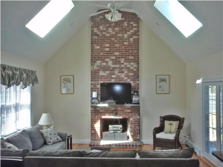 New Seabury New Seabury vacation rental - Expansive Sunken Family Room with French Doors to Patio and Pool