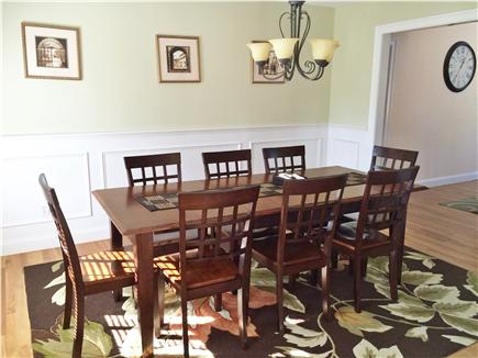 New Seabury New Seabury vacation rental - Dining Room seats 8 comfortably with add'l leaf for 10-12