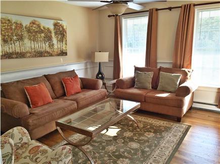 New Seabury New Seabury vacation rental - Living Room has add'l 42'' flat screen and Wii Gaming
