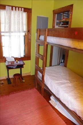 Woods Hole, Falmouth Woods Hole vacation rental - First floor bunk beds are great for kids!