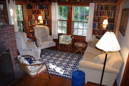 Woods Hole, Falmouth Woods Hole vacation rental - Living room.