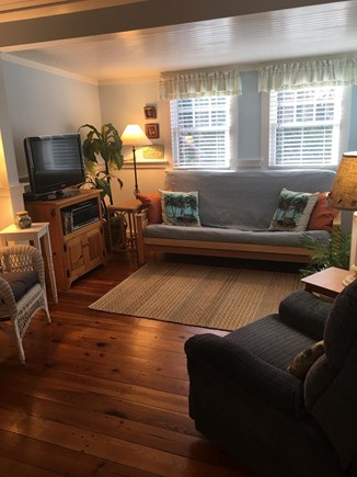 Eastham Cape Cod vacation rental - Living room with seating for 5 including recliner