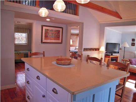 Eastham Cape Cod vacation rental - Interior layout from kitchen towards bedrooms