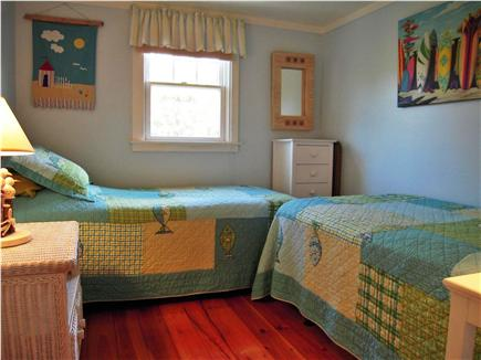 Eastham Cape Cod vacation rental - 2nd BR with two twins