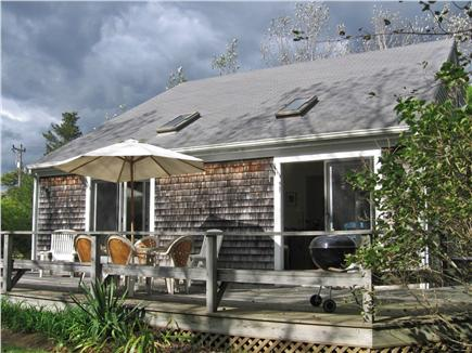 Chatham Cape Cod vacation rental - Back wrap-around deck