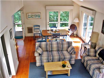 Chatham Cape Cod vacation rental - View of living room from stairs
