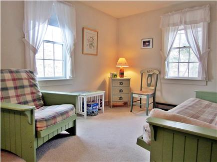 Chatham Cape Cod vacation rental - Upstairs family room with futon